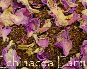 ROOIBOS CINNAMON ROSE Tea * Loose Leaf* 1 oz. African Red Bush All Natural
