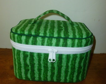 Watermelon Train Case