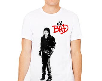 Michael Jackson Bad Anthology Tribute Shirt