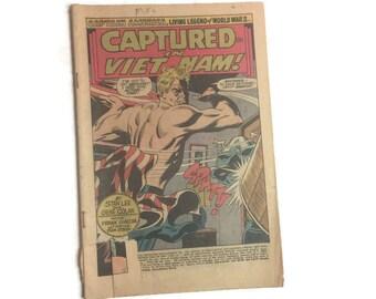 Marvel Comics Captain America No. 125 Vintage Comic