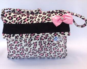 Stroller Bag - Bubblegum Leopard