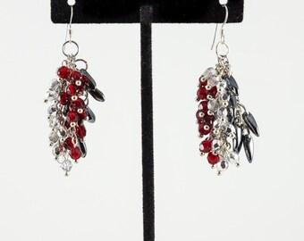Triple Dangle Earrings