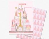 "It's Small World Inspired Birthday Invitation | Small World Birthday Invite | Small World Printable | 5X7 with *bonus reverse side"""
