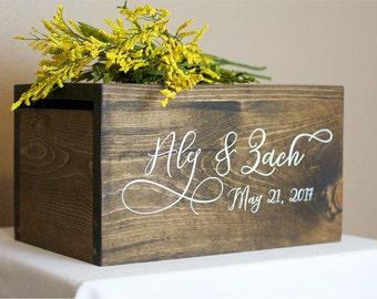 Wedding Card Box, money box, rustic wedding, rustic card box, wedding card holder, rustic wedding decor, luxury wedding