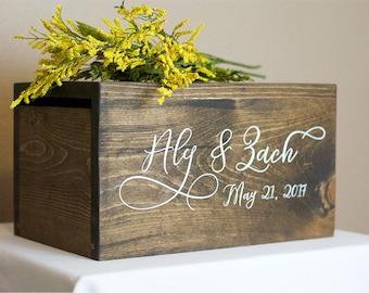 Wedding Baskets Boxes Etsy