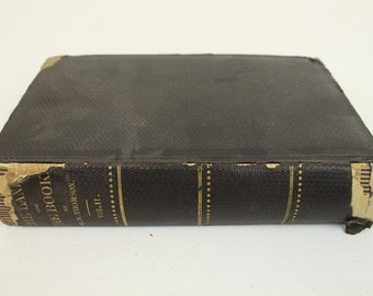 The Land and the Book, By W. M. Thomson, Volume II, The Holy Land, Harper & Brothers Publishers, 1868, Maps, Hardcover, History