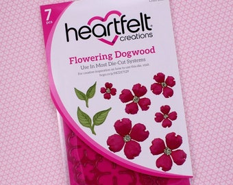 Heartfelt Creations Cut&Emboss Dies By Spellbinders ~ Flowering Dogwood, HCD1 7129