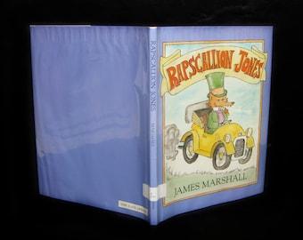"Vintage 1983 School Library Book- ""Rapscallion Jones"" by James Marshall, The Vikings Press"