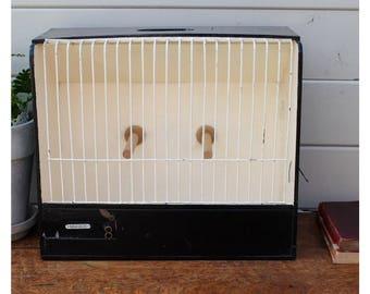 SALE Vintage Bird Cage / Curio Cabinet / Bird Carrier Decorative Vintage