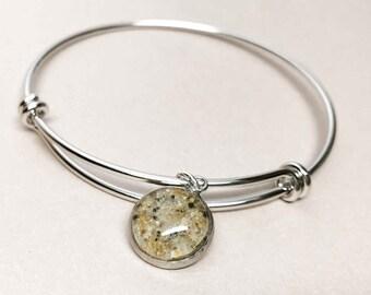 Beach Sand Bracelet - Sand Jewelry - Sand Bracelet - Expandable Bracelet - Beach Sand Jewelry - Custom Sand Jewelry - Beach Jewelry