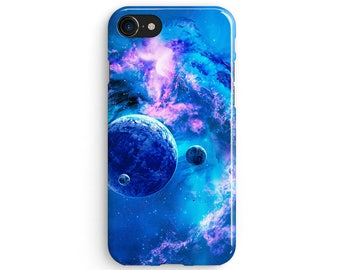 Space Stars Planets - iPhone 7 case, Samsung galaxy S8 case iPhone 6 iphone 7 plus samsung galaxy S7 iphone SE 1P071A