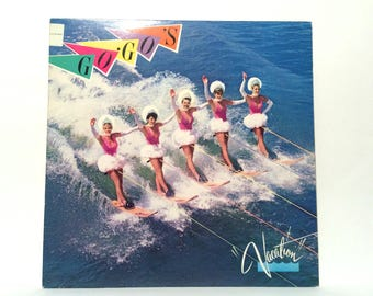 Vintage Go Go's 'Vacation' Near Mint Record LP with Interior Sleeve