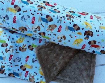 Minky Dog Blanket Etsy