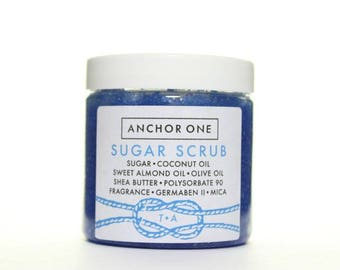 Anchor One Sugar ScrubTurquoise Anchor