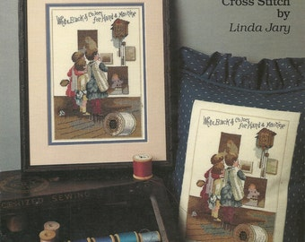 Collector's Items I:  Trade Cards in Cross Stitch Chart