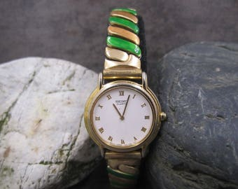 Women's Seiko Gold tone  wrist watch
