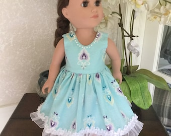 """18"""" AG/ Doll Party Dress"""