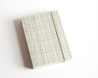 Lined Notebook, Small Journal, Mini Book, Journal Diary, Handbound Book, Metallic Print, Modern Print, Gold Notebook, Coptic Stich, Lay Flat
