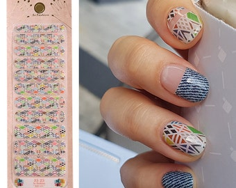 Gelstrip no.3525 by MonsterNails Nail Wraps