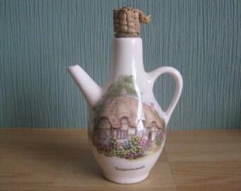 Vintage Brixham Pottery Vinegar/Oil Bottle