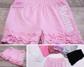 ruffle shorties - petti shorts - girls ruffle shorts - icing shorts -  toddler shorts - girls shorts - baby shorts - ruffle clothes