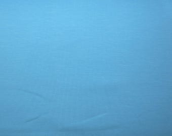 Fabric - Cotton/elastane jersey fabric -  Sky blue