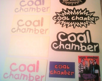 Coal Chamber Stickers Decals