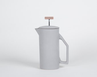 850 mL Ceramic French Press - Gray
