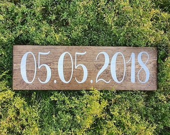 Special Date Sign   Wedding Date Sign   Farmhouse Sign   Farmhouse Style   Custom Gift   Wedding Gift   Anniversary   Country   Photo Prop