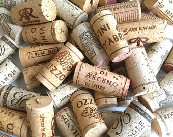 100 Wine Corks Natural Bulk USED Craft Cork Wedding Supply QUALITY No Broken or Synthetics DIY Crafting Coasters Wreath Material
