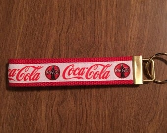 Coca Cola Key Chain Zipper Pull
