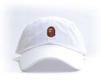 BAPE Embroidered Dad Hat (AAPE BBC bathing ape bapesta og all color)