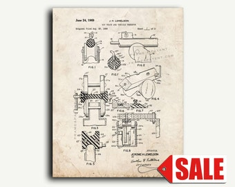 Patent Print - Toy Track And Vehicle Therefor Patent Wall Art Poster