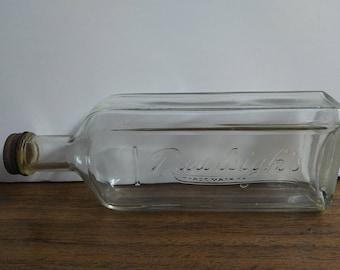 Vintage Embossed  Rawleigh's bottle