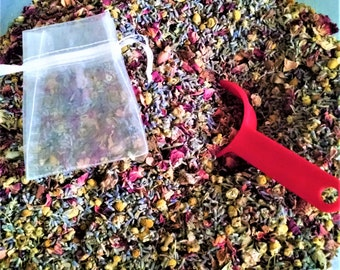 Herbal Potpourri,  (1) One pound.  Wedding Flower Toss, Petal Confetti. Rose, Lavender, Chamomile.  For sachets or fragrant bath tea