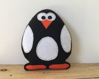 Felt Penguin Stuffed Animal