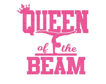 Queen of the Beam Iron On Decal