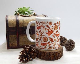 Wood Coffee Mug 11 oz