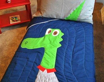 Fancy Dak Dino Bedding # 100% Cotton