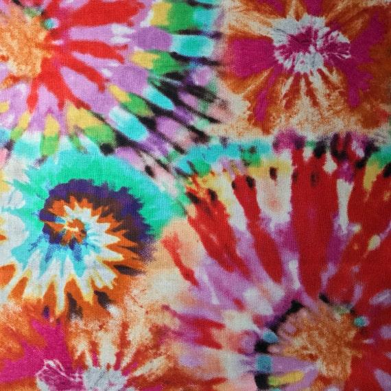 Tie Dye Fold Over Clutch / Cross Body
