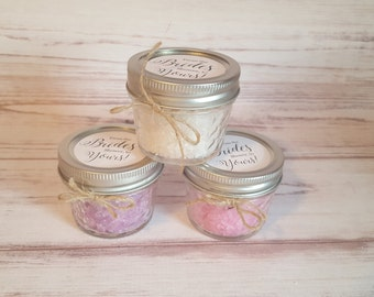 3 for 12! Sugar Scrub Bridal or Baby Shower Favors!
