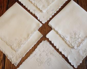 7 Linen Napkins