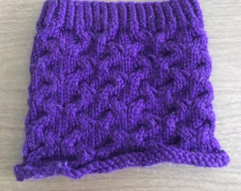 Chunky Cabled Neckwarmer