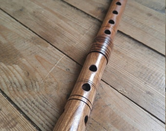Bulgarian kaval - wooden flute - D - traditional & original