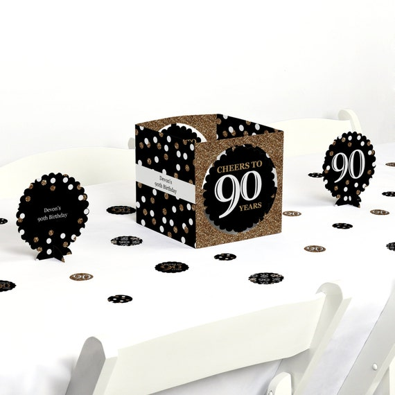 Th birthday party centerpiece table decoration kit