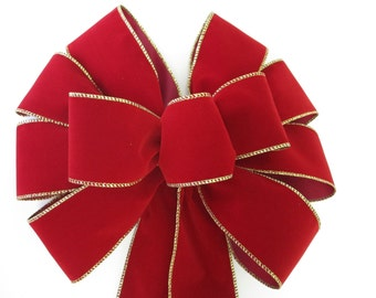 Outdoor Velvet Bows Etsy