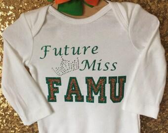 Future Miss FAMU bling shirt