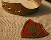 Lucina Cosplay Set- Tiara and Crest Badge, Fire Emblem Cosplay