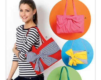 McCall's Sewing Pattern M6977 Oversized-Bow Tote Bags