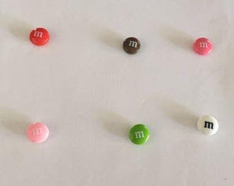 Chocolate m Candy Magnet Set!